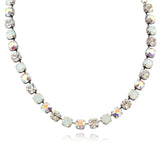 Mariana Jewelry On A Clear Day Silver Plated Swarovski Crystal Necklace, 18