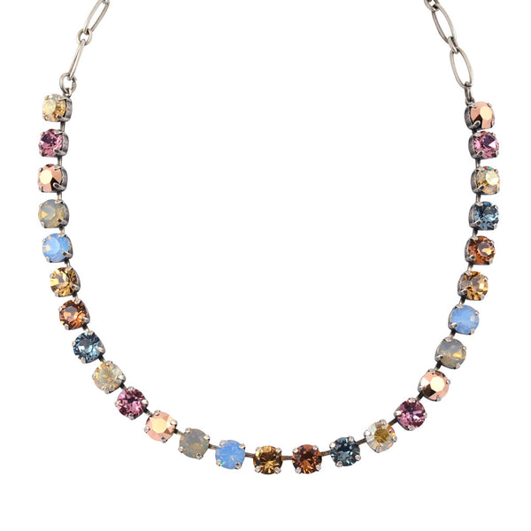 "Mariana Rhapsode Round Necklace, Silver Plated with Swarovski Crystal, 18"" 3252 1092"