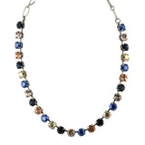 Mariana Jewelry Ocean Necklace, Silver Plated with Swarovski Crystal, Nature Collection MAR-N-3252 2142 SP