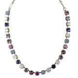 Mariana Jewelry Purple Rain Necklace, Silver Plated with Swarovski Crystal, Nature Collection MAR-N-3252 M1062 SP