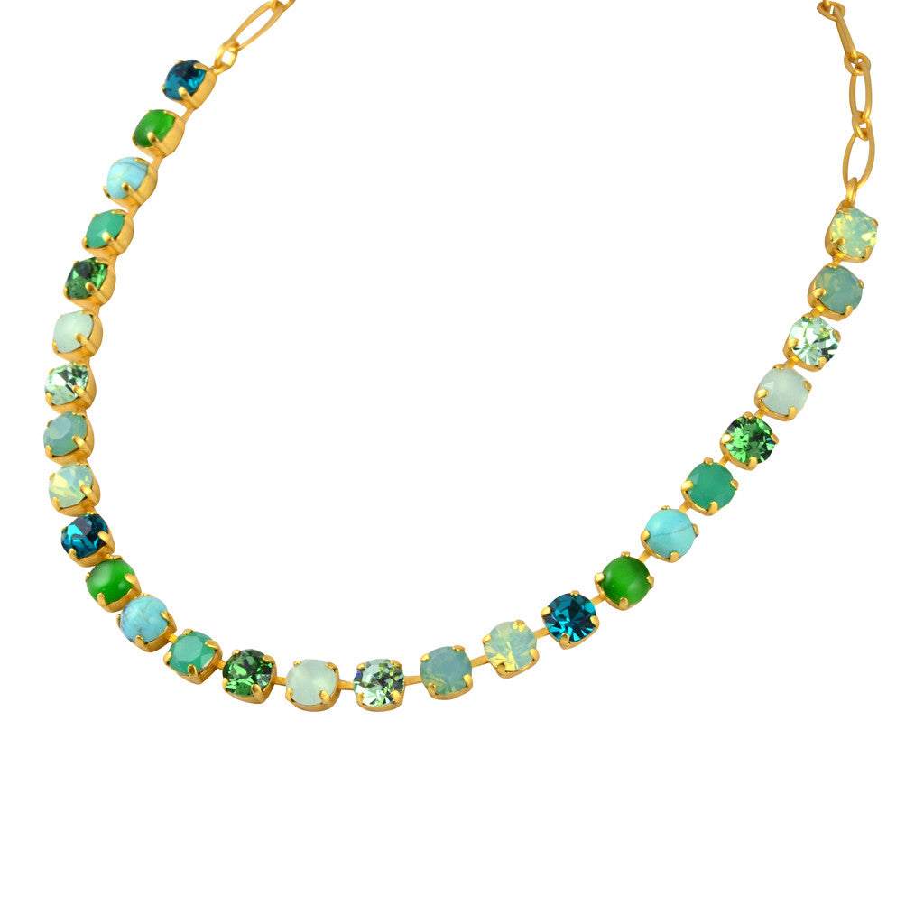 Mariana Jewelry Congo Necklace, Gold Plated Swarovksi Crystal, 8 3252 M1076