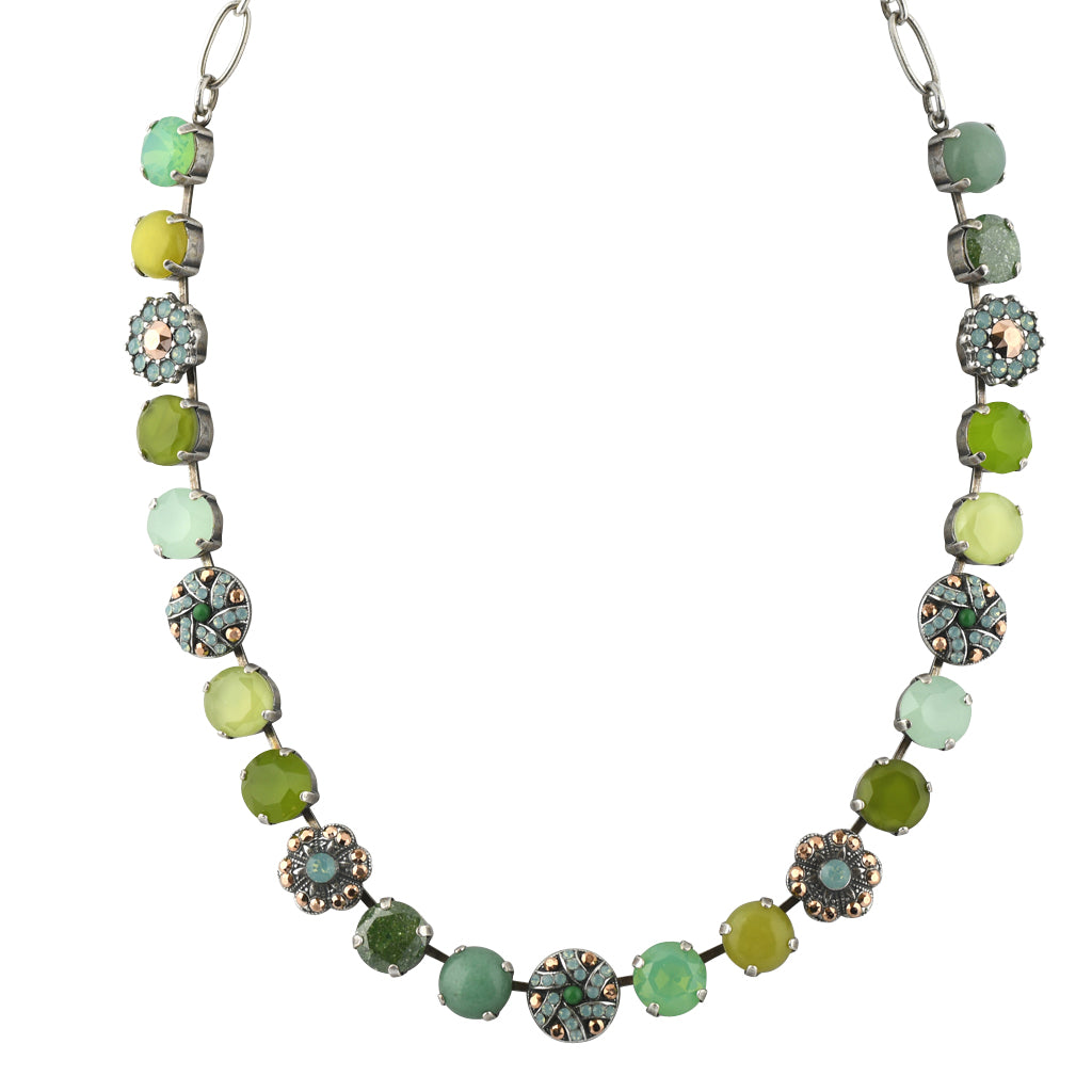 "Mariana Jewelry Evergreen Silver Plated Necklace, 20"" 3259/1"