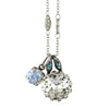 Mariana Jewelry Ice Necklace, Silver Plated with Swarovski Crystal, Nature Collection MAR-N-5133_2 512 SP