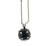 Mariana Jewelry Ocean Necklace, Silver Plated with Swarovski Crystal, Nature Collection MAR-N-5137_1 2142 SP