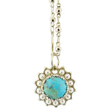 Mariana Jewelry Happiness Necklace, Rhodium Plated with Crystal