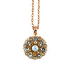 Mariana Jewelry Seashell Necklace, Rose Gold Plated with Swarovski Crystal, Nature Collection MAR-N-5212 39361 RG