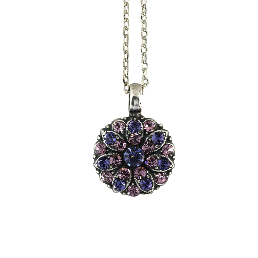 Mariana Jewelry Topaz Necklace, Silver Plated with Swarovski Crystal, Nature Collection MAR-N-5212 539212 SP
