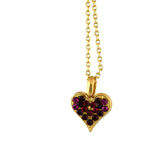 Mariana Jewelry Firefly Necklace, Gold Plated with Swarovski Crystal, Nature Collection MAR-N-5322 2140 YG