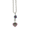 Mariana Jewelry Spring Flowers Necklace, Silver Plated with Swarovski Crystal, Nature Collection MAR-N-5322_9 2141 SP