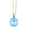 Mariana Silver Plated Round Pendant Necklace 5326/0