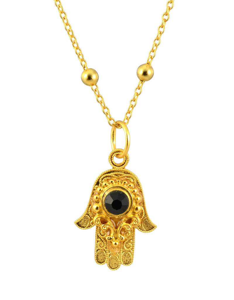 necklace product hand cookie fortune fatima gold