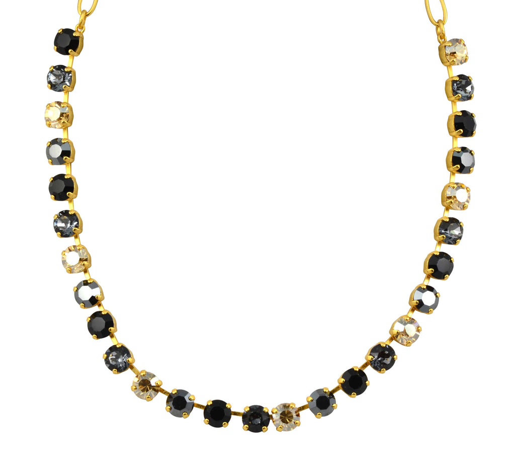 Mariana Jewelry Midnight in Paris Gold Plated Swarovski Crystal Necklace, 18