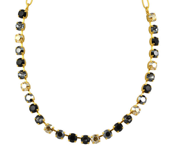 Mariana Midnight in Paris Gold Plated Swarovski Crystal Necklace, 18