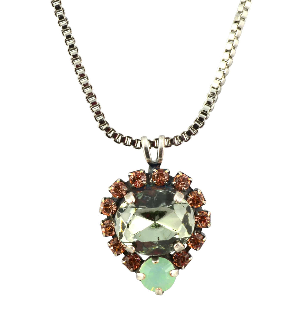 Mariana orchid necklace n 51322 1050 sp en reverie mariana orchid silver plated swarovski crystal oval pendant necklace 144 aloadofball Choice Image
