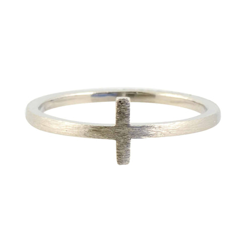 Modern Opus Double Band Ring, Gold Plated Adjustable
