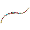 Sorrelli Botanical Brights Antique Gold Plated Geo Classic Tennis Bracelet