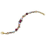 Sorrelli Radiant Sunrise Antique Gold Plated Geo Classic Tennis Bracelet