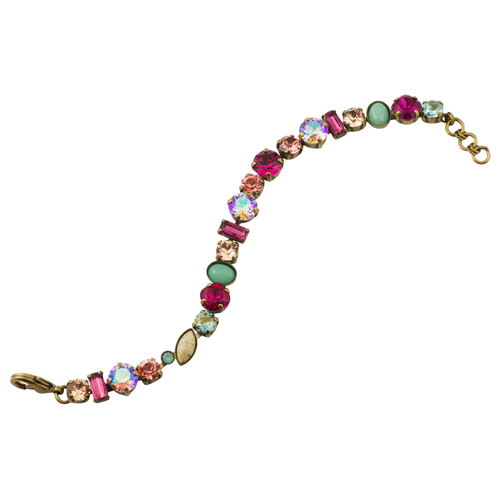 Sorrelli Radiant Sunrise Antique Gold Plated Constantia Bracelet