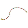 Sorrelli Botanical Brights Antique Gold Plated Lobelia Bracelet