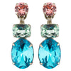 Sorrelli Vivid Horizons Antique Silver Plated Forget-Me-Not Earring