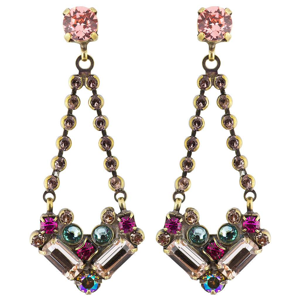 Sorrelli Radiant Sunrise Antique Gold Plated Kalmia Earring