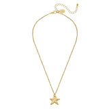 Susan Shaw Gold Plated Star Pendant Necklace