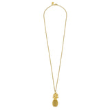 Susan Shaw Gold Plated Pineapple Pendant Necklace