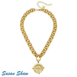 Susan Shaw Handcast Gold