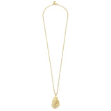 Susan Shaw Handcast Gold Oyster Necklace, 30