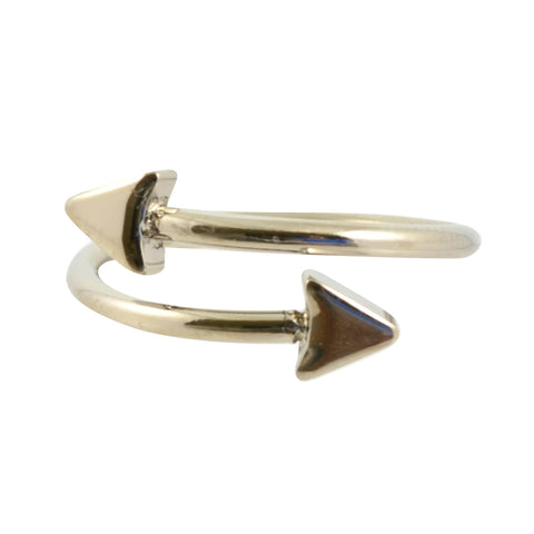 House of Harlow Sound Waves Ring, Goldtone Size 7, by Nicole Richie