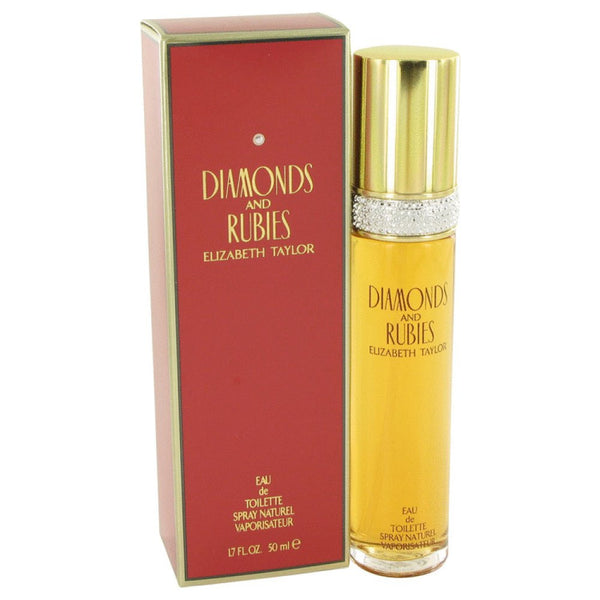 Diamonds & Rubies for Women by Elizabeth Taylor EDT Spray 1.7 oz - Discount Fragrance at Cosmic-Perfume