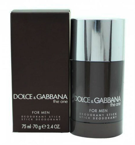 The One for Men by Dolce & Gabbana Deodorant Stick 2.4 oz - Discount Bath & Body at Cosmic-Perfume