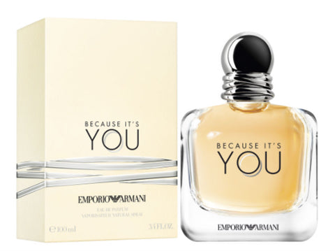 Emporio Armani Because It's You for Women Eau de Parfum Spray 3.4 oz - Cosmic-Perfume