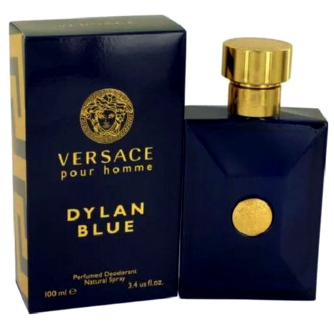 Versace Dylan Blue Pour Homme for Men Deodorant Spray 3.4 oz - Cosmic-Perfume