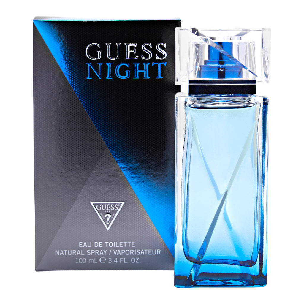 GUESS NIGHT for Men by Guess Eau de Toilette Spray 3.4 oz - Cosmic-Perfume