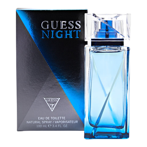 GUESS NIGHT for Men by Guess Eau de Toilette Spray 3.4 oz - Discount Fragrance at Cosmic-Perfume