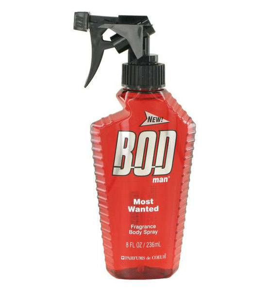 Bod Man Most Wanted for Men Fragrance Body Spray 8 oz - Discount Fragrance at Cosmic-Perfume