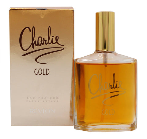 Charlie Gold for Women by Revlon Eau Fraiche Spray 3.4 oz - Cosmic-Perfume
