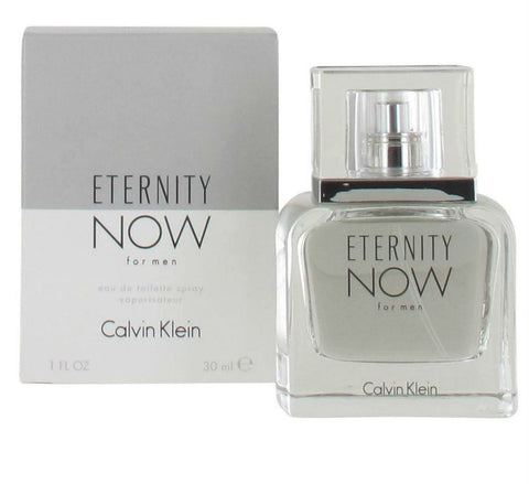 Eternity Now for Men by Calvin Klein Eau de Toilette Spray 1.0 oz - Cosmic-Perfume