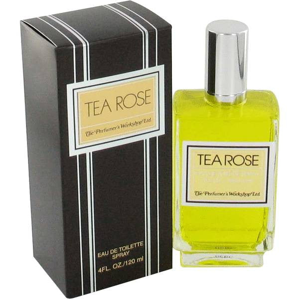 Tea Rose for Women by Perfumers Workshop EDT Spray 4.0 oz - Discount Fragrance at Cosmic-Perfume