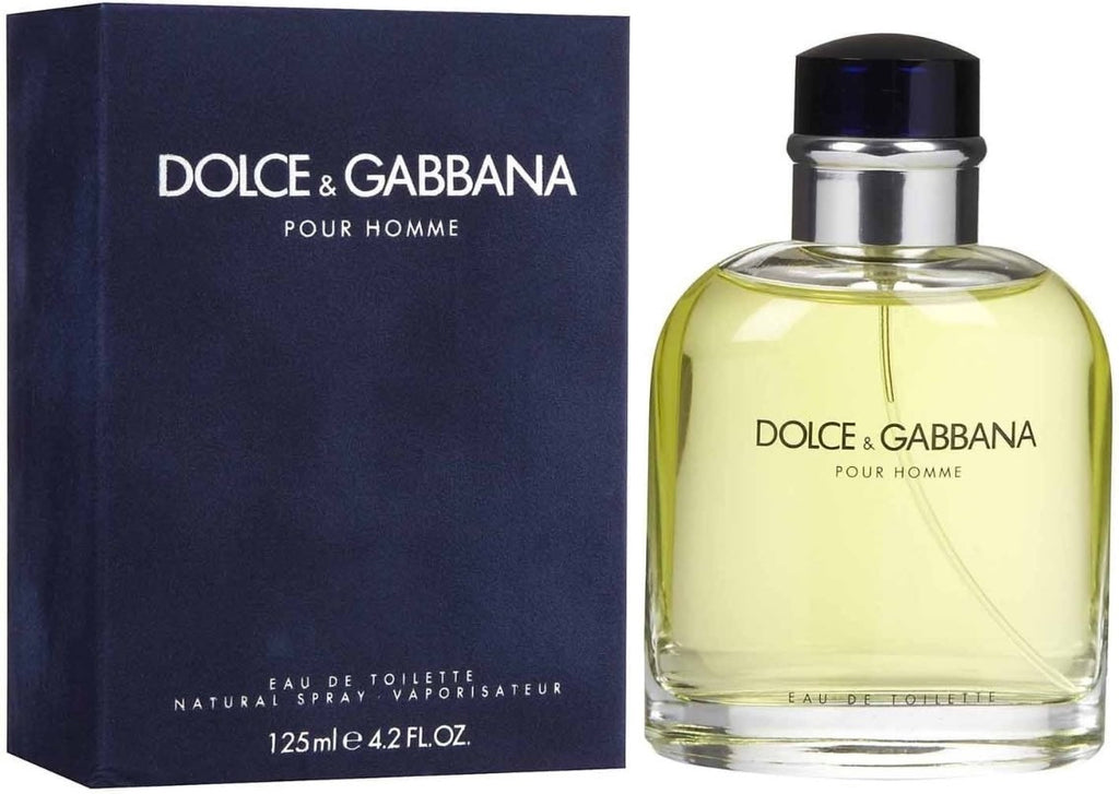 Dolce & Gabbana for Men by Dolce & Gabbana EDT Spray 4.2 oz - Cosmic-Perfume