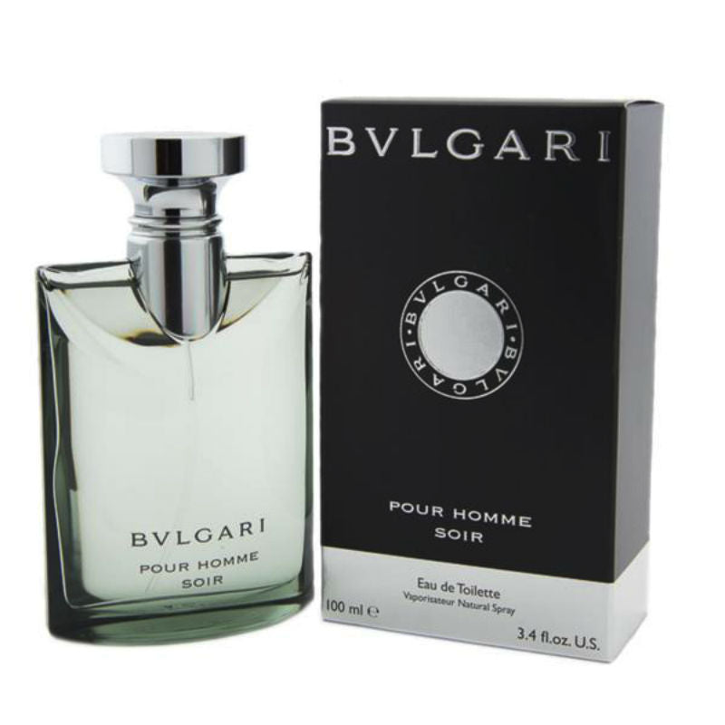 Bvlgari Soir pour Homme for Men by Bvlgari EDT Spray 3.4 oz - Cosmic-Perfume