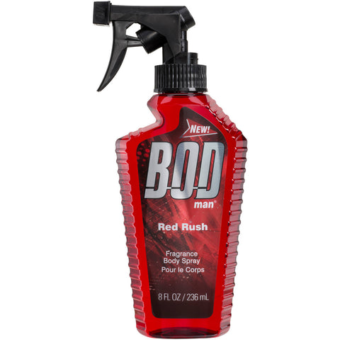 Bod Man Red Rush for Men Fragrance Body Spray 8 oz - Discount Fragrance at Cosmic-Perfume