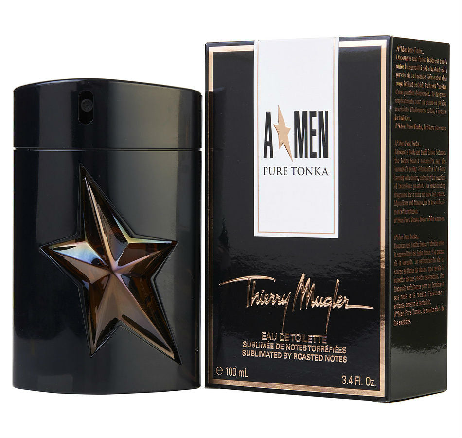 A * MEN Angel Pure Tonka  Men Thierry Mugler EDT Spray 3.4 oz - Cosmic-Perfume