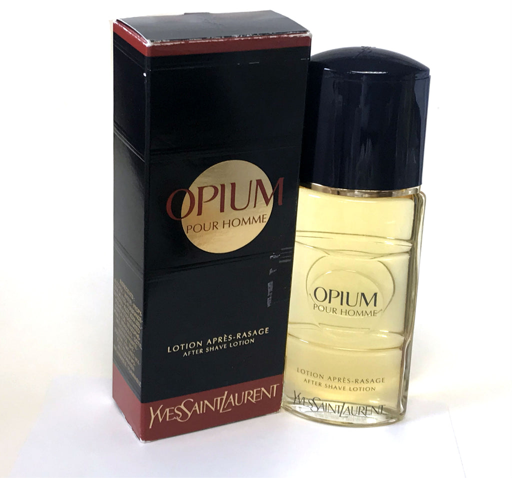 Opium for Men by Yves Saint Laurent After Shave Splash 1.6 oz *Worn Box