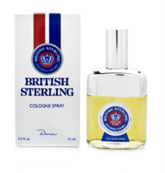British Sterling for Men by Dana Cologne Spray 2.5 oz - Discount Fragrance at Cosmic-Perfume