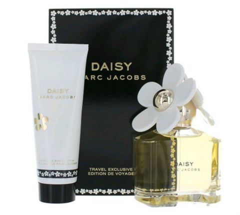 Daisy for Women by Marc Jacobs EDT Spray 3.4 + Luminous Body Lotion 2.5 oz Gift Set - Cosmic-Perfume
