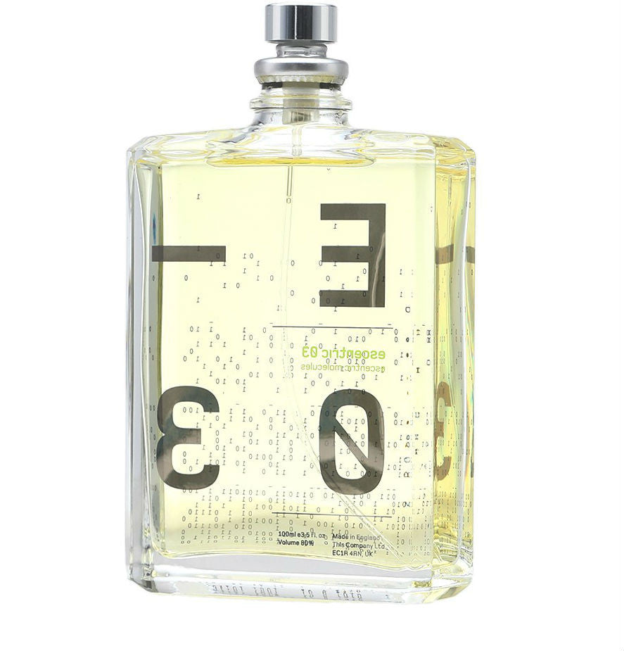 Escentric 03 Unisex Escentric Molecules EDT Spray 3.5 oz / 100 ml (Tester) - Cosmic-Perfume