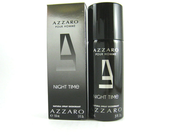Azzaro Night Time pour Homme Deodorant Spray 5.0 oz - Cosmic-Perfume