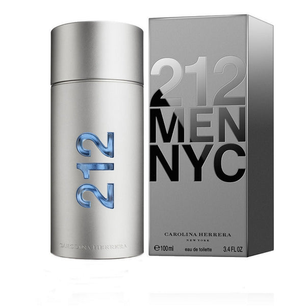212 for Men by Carolina Herrera EDT Spray 3.4 oz - Discount Fragrance at Cosmic-Perfume